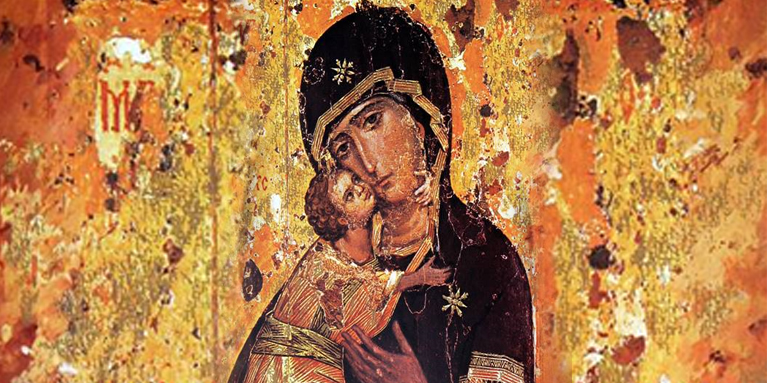 María no es sólo un ejemplo, sino también causa de salvación.
