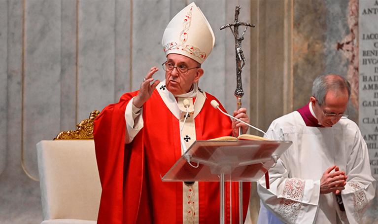 Domingo de Ramos 2020. El Papa: Redescubramos que la vida no sirve, si no se sirve.