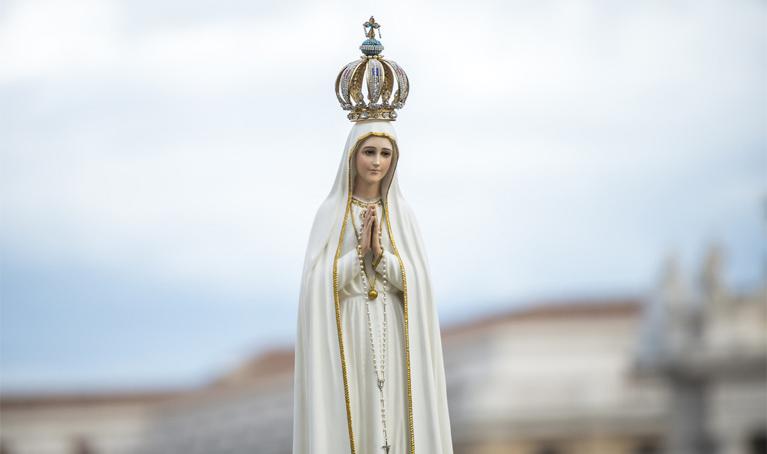 Fátima. El Papa: Unidos a la Virgen, invocamos la paz y el fin de la pandemia.
